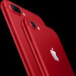 iPhone7 / 7 Plusに新色レッドが追加。PRODUCT RED™️の製品です。