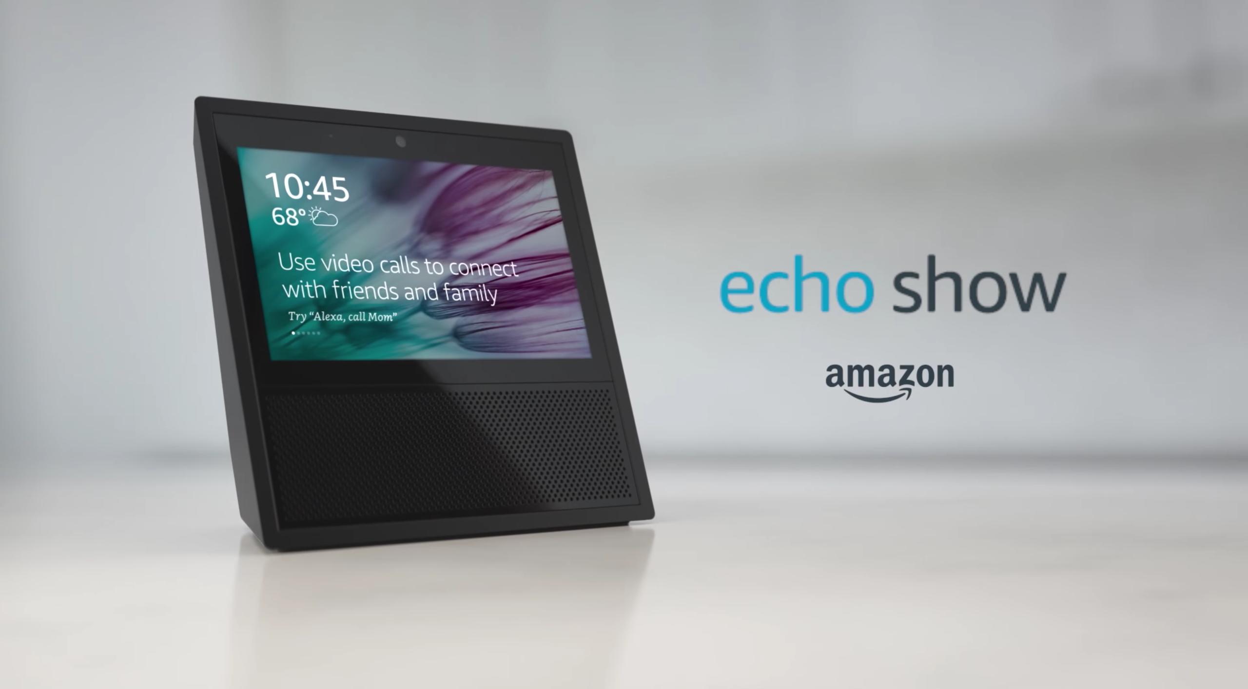 Amazonが7インチディスプレイ搭載「Echo Show」を発表。6月28日に発売