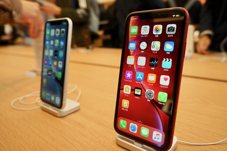 【写真】ついに発売!「iPhone XR」実機を触ってきた