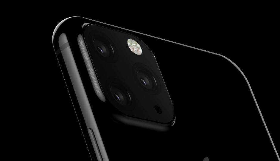 2019年の「iPhone XI」は四角形で囲まれたトリプルカメラに。