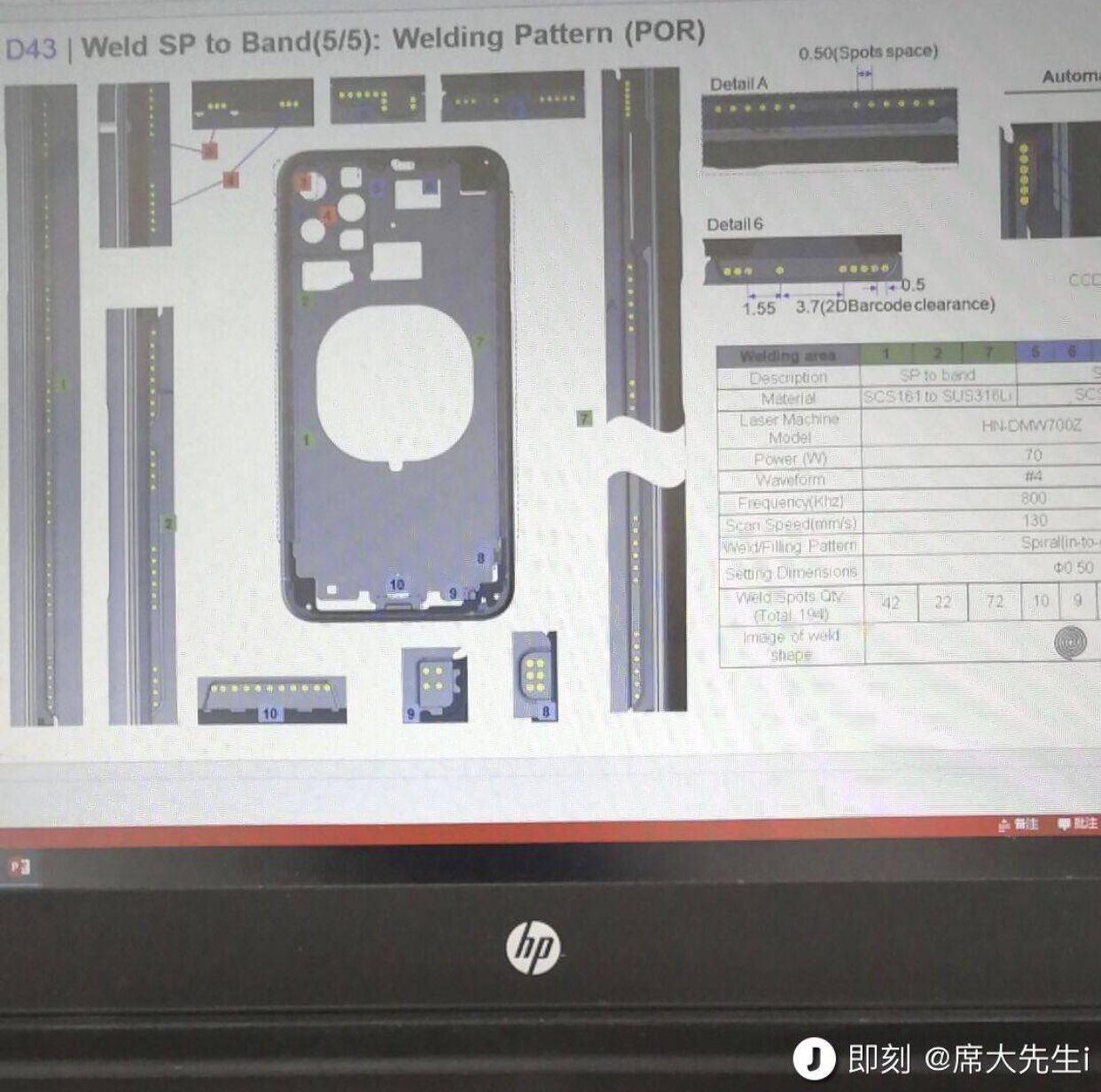 2019年の次期iPhoneのデザインが流出か、トリプルカメラ用の穴が確認される
