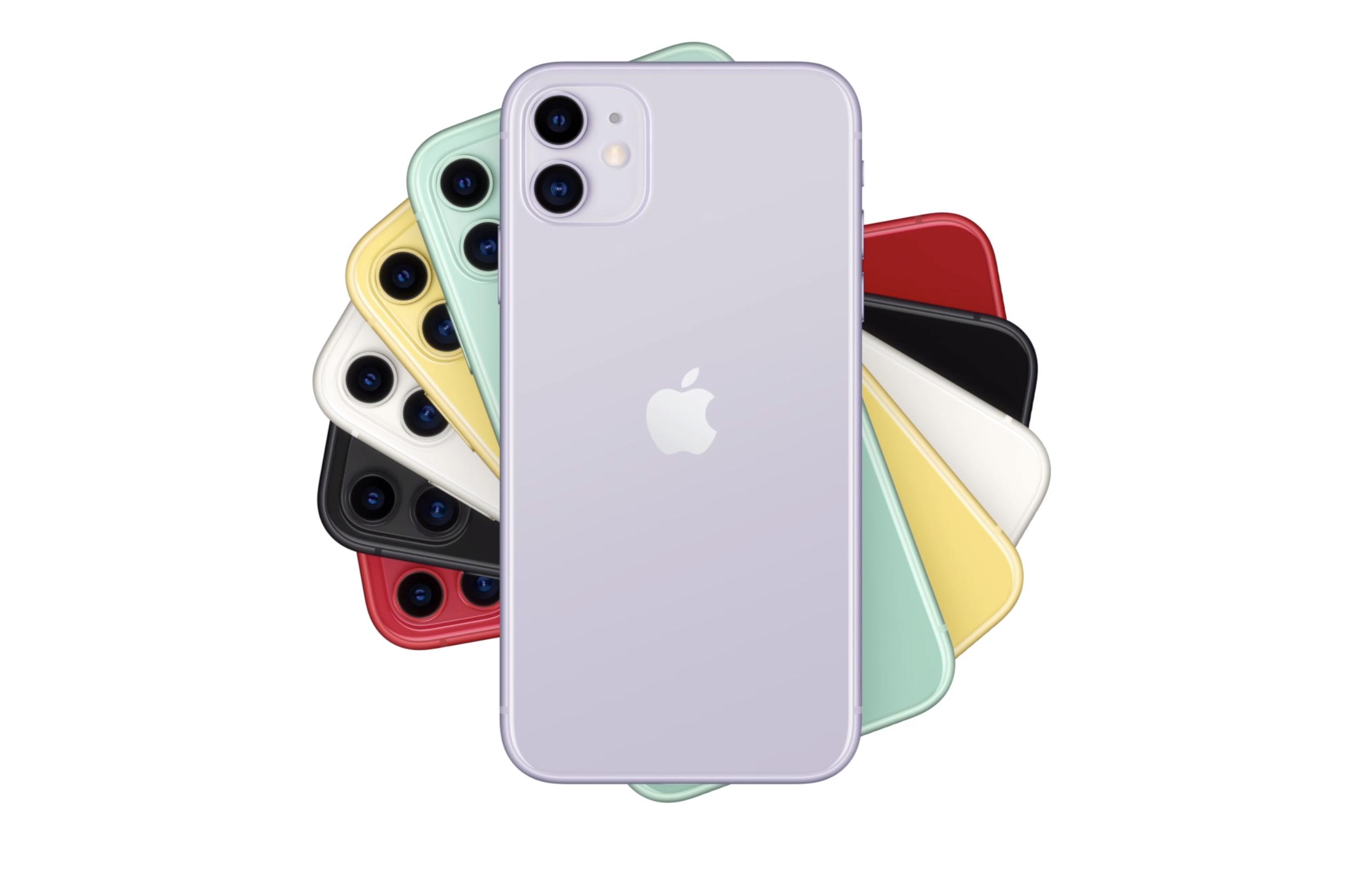 新型iPhone11が発表、発売日は9月20日で価格は74,800円から。